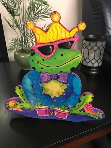 Bongo Frog Napkin Holder