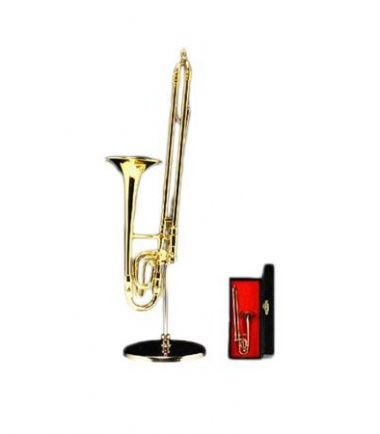 Miniature Trombone with Case from DrumBum.com