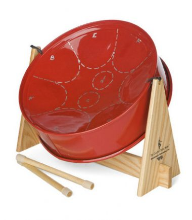 Mini Red Steel Drum from DrumBum.com
