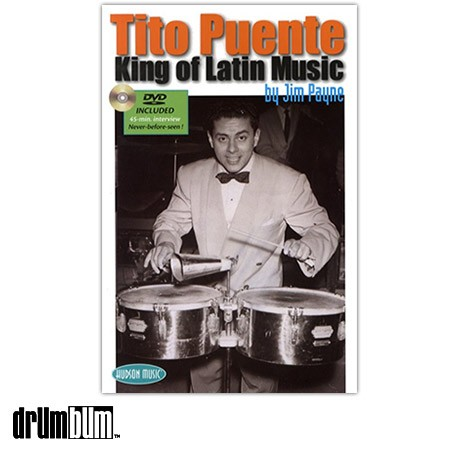 Tito Puente - King Of Latin Music Book / DVD