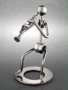 552432283 Clarinet Metal Figurine | Music Gifts for Musicians. Drummer Gifts ...