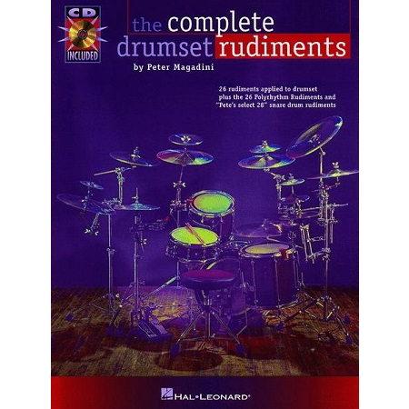 Complete Drumset Rudiments Book