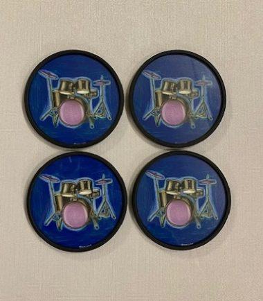 Drum Coasters