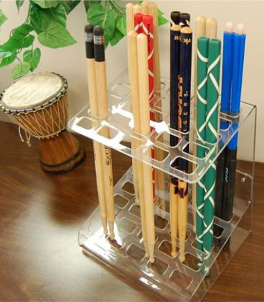 drumstick holder display rack