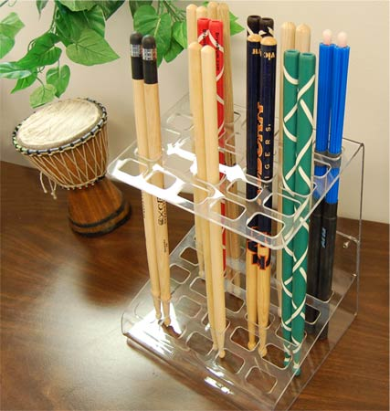 drumsticks display rack acrylic drumsticks display holder. Black Bedroom Furniture Sets. Home Design Ideas