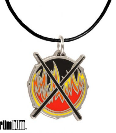 drumstick fire necklace