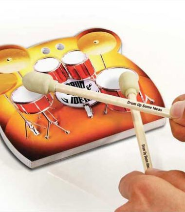 drummer stationery set