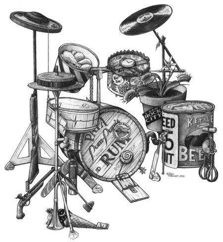 drumset artwork