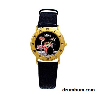 drumset watch personalized