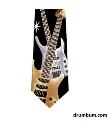 guitar tie for guitarist