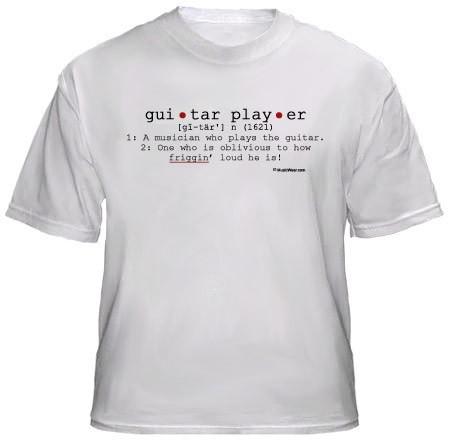7aba8a7d Home›Drummer T-shirts›Guitar Player Definition T-Shirt. Guitar ...