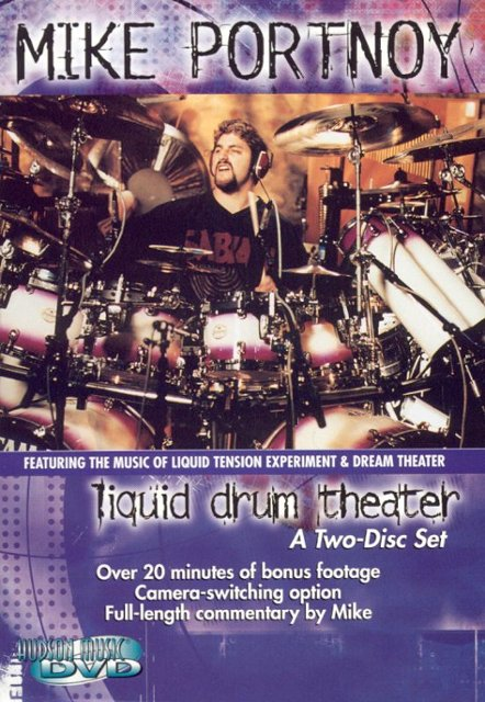 Mike Portnoy DVD -Liquid Drum Theater