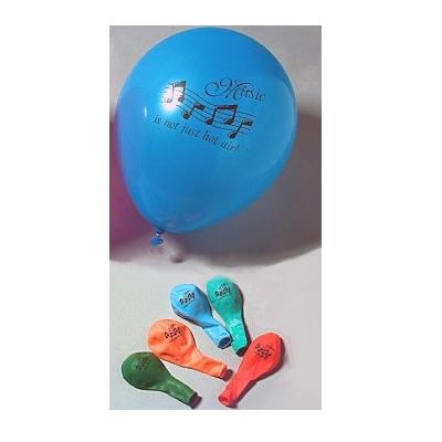 music helium balloons