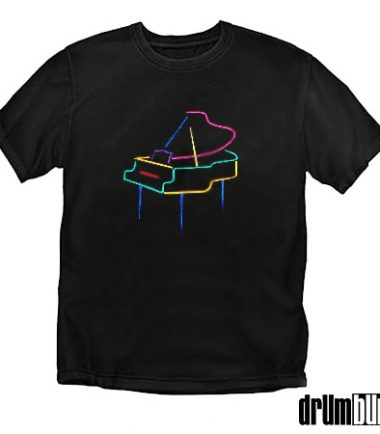 Embroidered Piano T-shirt