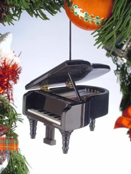 Christmas Ornament - Grand Piano | Music Gifts for Musicians ...