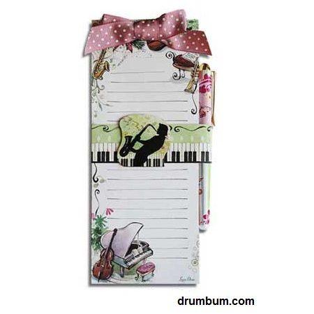 Piano Notepad