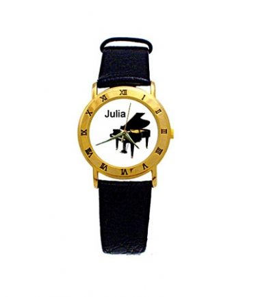 personalized piano watch