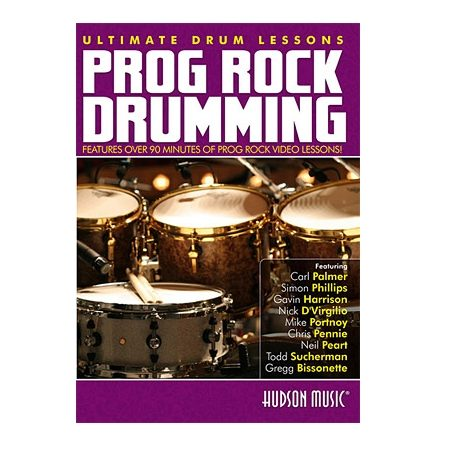 prog rock drumming dvd