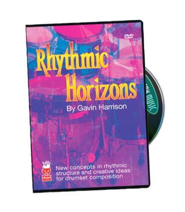 Rhythmic Horizons DVD - Gavin Harrison