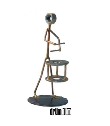 snare drum wire figurine
