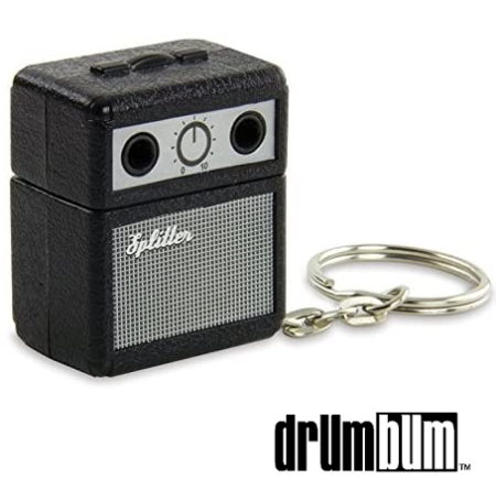 Headphone Splitter Guitar Amp Keychain