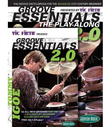 Groove Essentials DVD Book Combo Pack Tommy Igoe