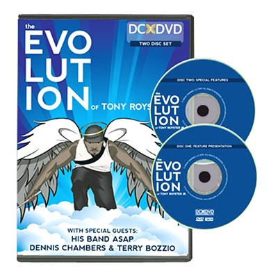 dvd the evolution of tony royster jr
