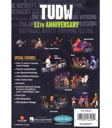 Ultimate Drummer's Weekend 11 DVD