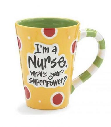 Nurse Super Power Coffee Mug from DrumBum.com