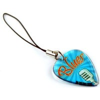 custom guitar pick charm