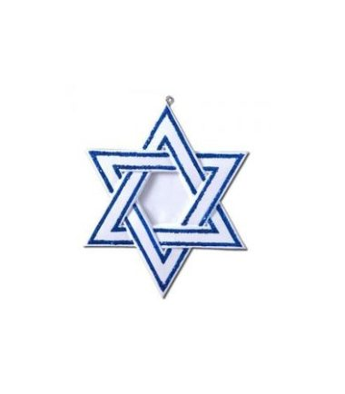 jewish star ornament
