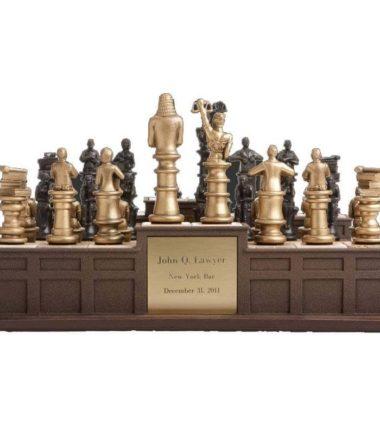 judicial legal chess set