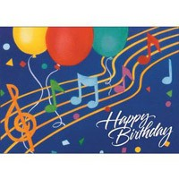 happy birthday card music