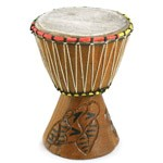 small djembe drum