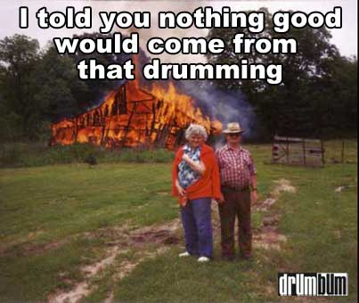 drum jokes meme