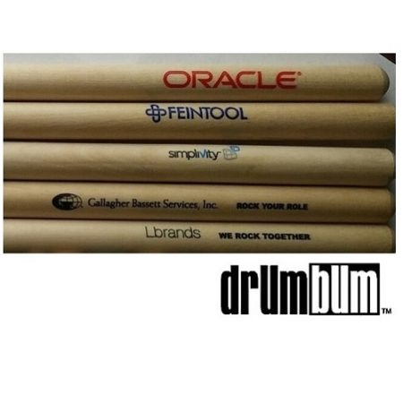 Printed Drumsticks for Companies