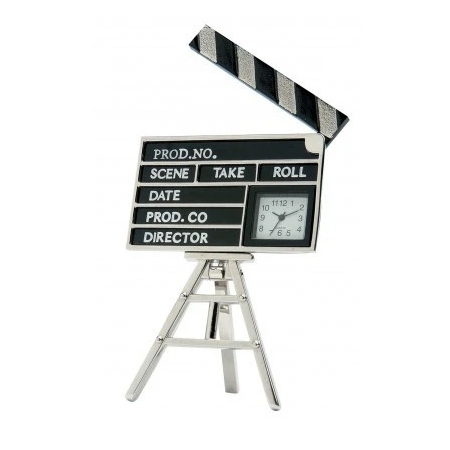 Clap Board Clock