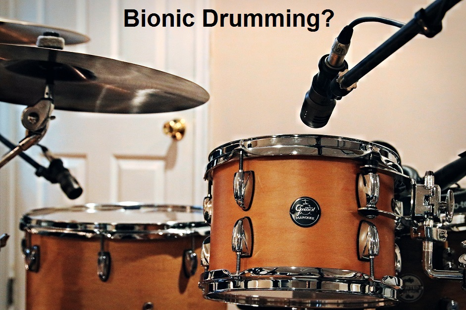 ai drumming drumset
