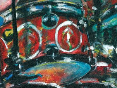 Drummer Neil Peart