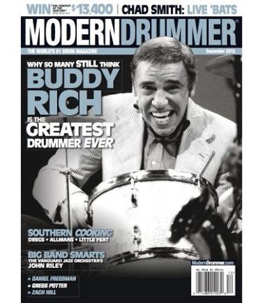 Buddy Rich, Modern Drummer Magazine