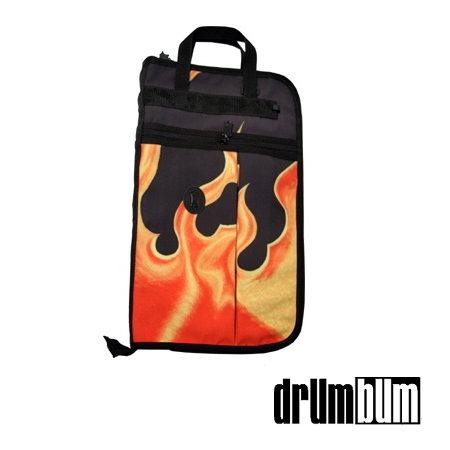 Flames Drumstick Bag for Drummers