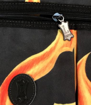 Flames Drumstick Bag Close