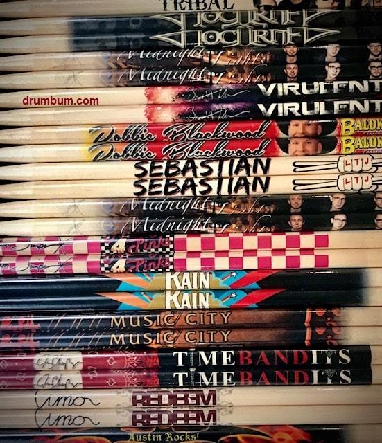 Custom Logo Drumsticks