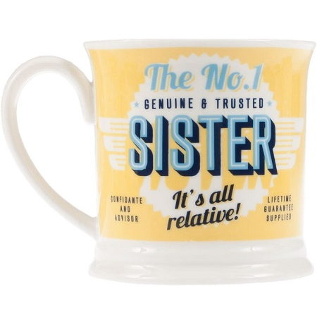 Sister Mug - Diner Style Mug