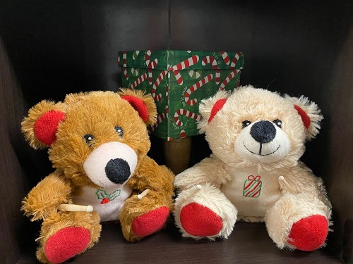 christmas drummer bears