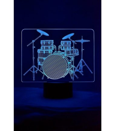 3D Drumset Light
