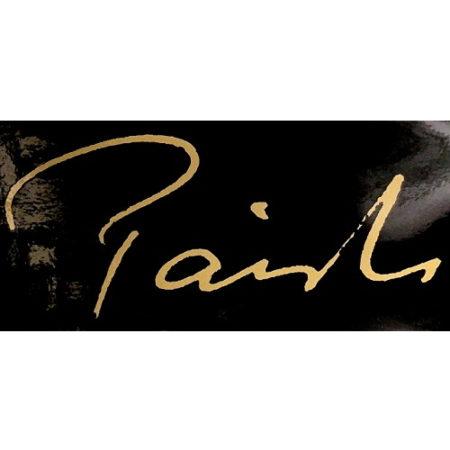 Black, Paiste Signature Sticker in Gold Lettering